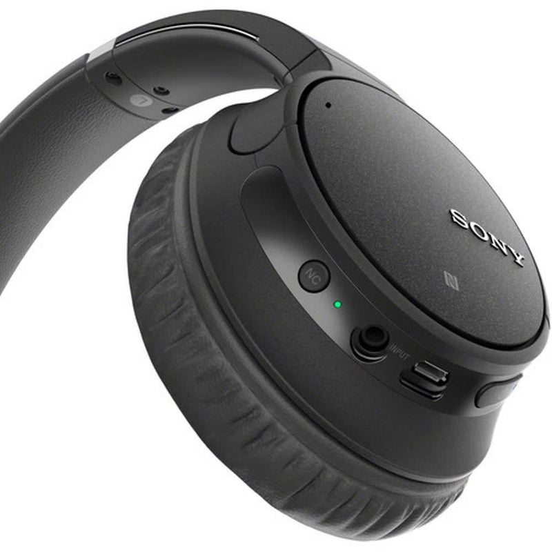 Sony WH-CH700N Wireless Noise-Canceling Over-Ear Headphones (Black)