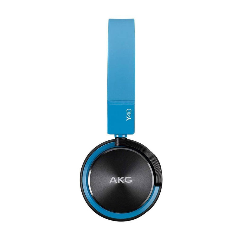 AKG Y40 Mini Headphones With Mic/Remote - Blue