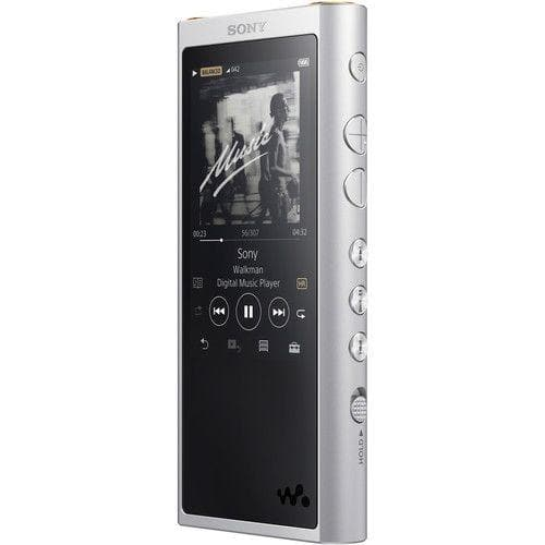 Sony NW-ZX300 Walkman  - Digital player - 64 GB - Silver