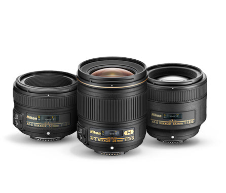 Build an exceptional fast prime lens system