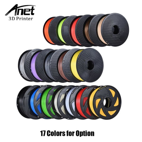 ABS Filament 3D Printer Filament ABS Plastic Filament 1kg/Roll 2.2lb 1.75mm