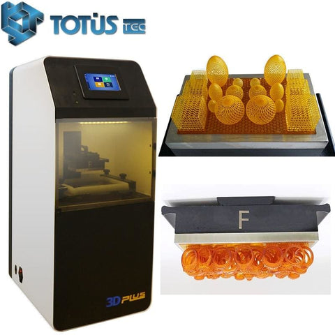 TotusTec Pus 1 DLP LED 1080P Heavy Duty 3D Printer