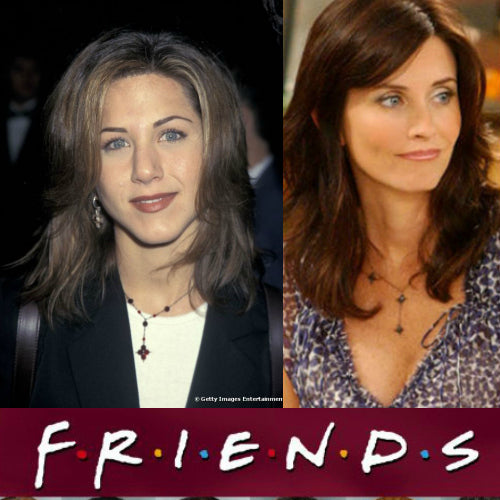 Friends-Jennifer Anniston & Courtney Cox - Bella Branch