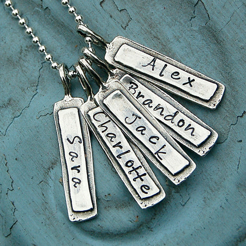 Personalized Name Charm Necklace - Bella Branch