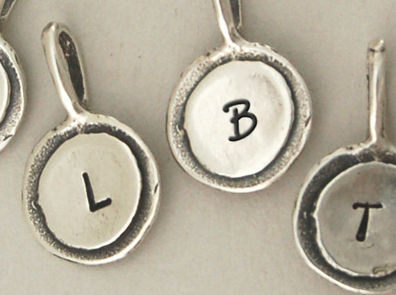 Initial & Cross Necklace - Bella Branch