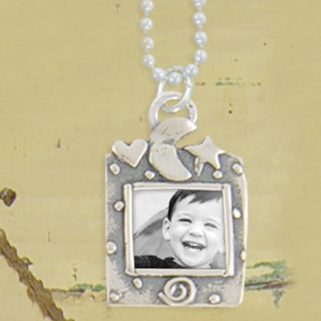 Wishing Photo Necklace