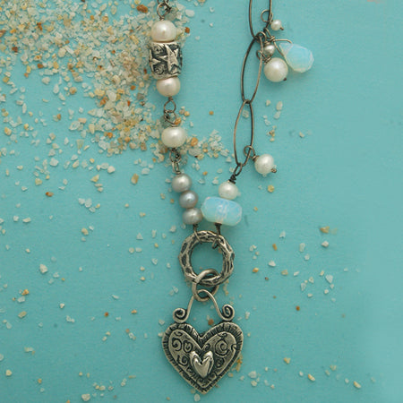 Beautiful Heart Necklace - Bella Branch
