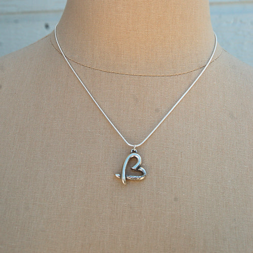 Love You Heart Necklace