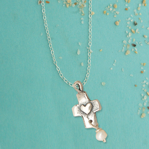First Communion Necklace - Bella Branch