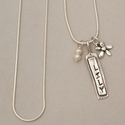 A Personalized Name Charm