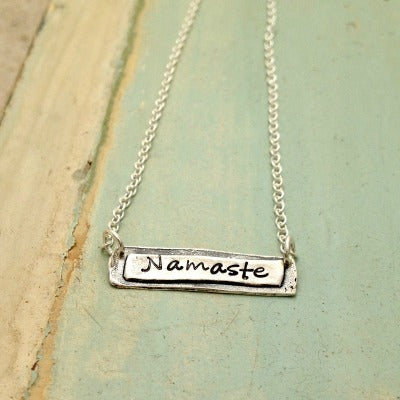 Namaste Necklace - Bella Branch