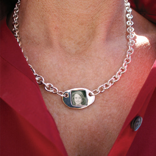 Token of Love Photo Necklace