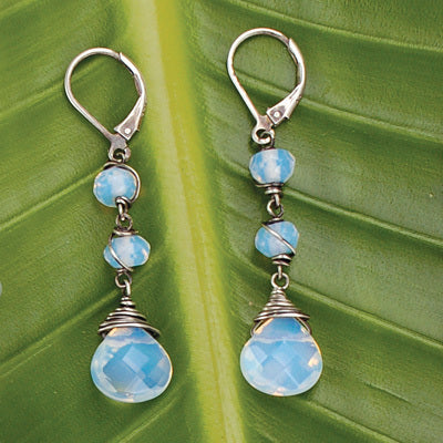 Princess Fire Opal Earrings - Bella Branch