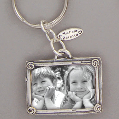 Portrait of Love Photo Key Chain