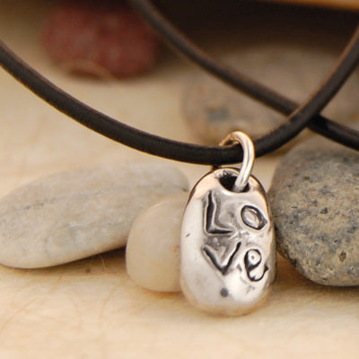 Love Thumbprint Necklace - Bella Branch