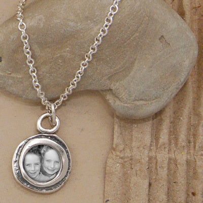 Circle of Love Photo Necklace