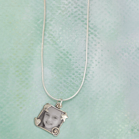 Whimsical Photo Necklace - Bella Branch