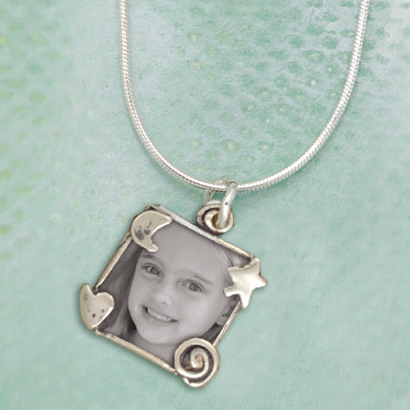 Whimsical Photo Necklace
