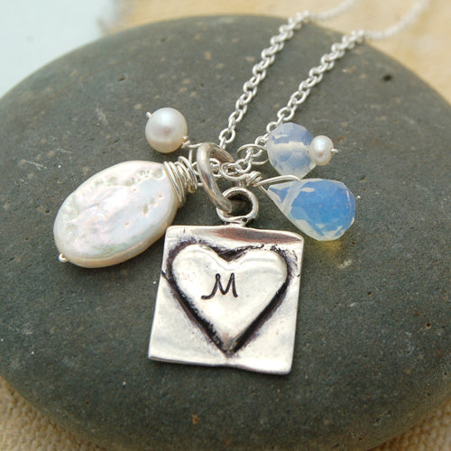 Personalized Initial Necklace - Bella Branch