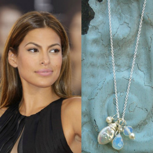 Eva Mendes-Moonlight Necklace - Bella Branch