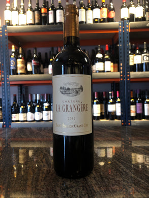2012 Chateau La Grangere Saint Emilion Grand Cru Bordeaux Organic (750ml)
