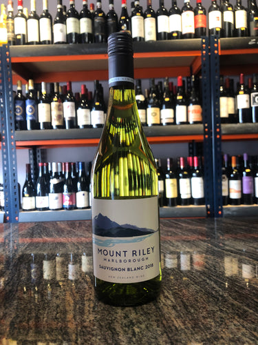 2018 Mount Riley Marlborough Sauvignon Blanc (750ml)