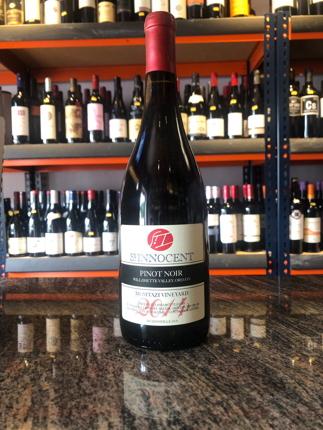 2015 St. Innocent Winery Momtazi Vineyard Pinot Noir (750ml)