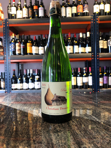 2015 Christian Drouin 'Sour Pear' Cider, France (750ml)