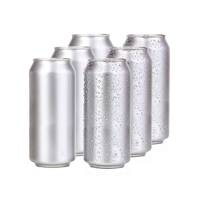 Aluminium, Polished, with lid, (207 pcs x 500 ml)