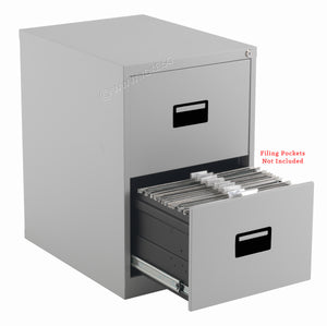 2 Drawers Steel Filling Cabinet