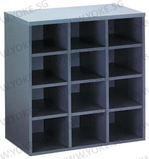 Low Pigeon Hole Cabinet