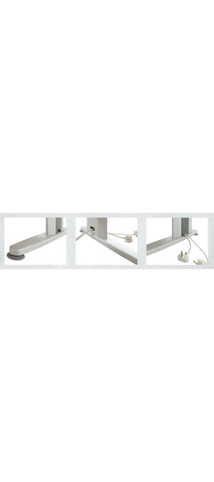 ERGONOMIC TABLE - METAL LEGS