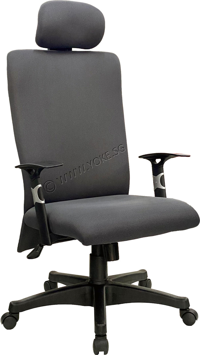 YOE 16H - Mid Back Executive Chair With Headrest