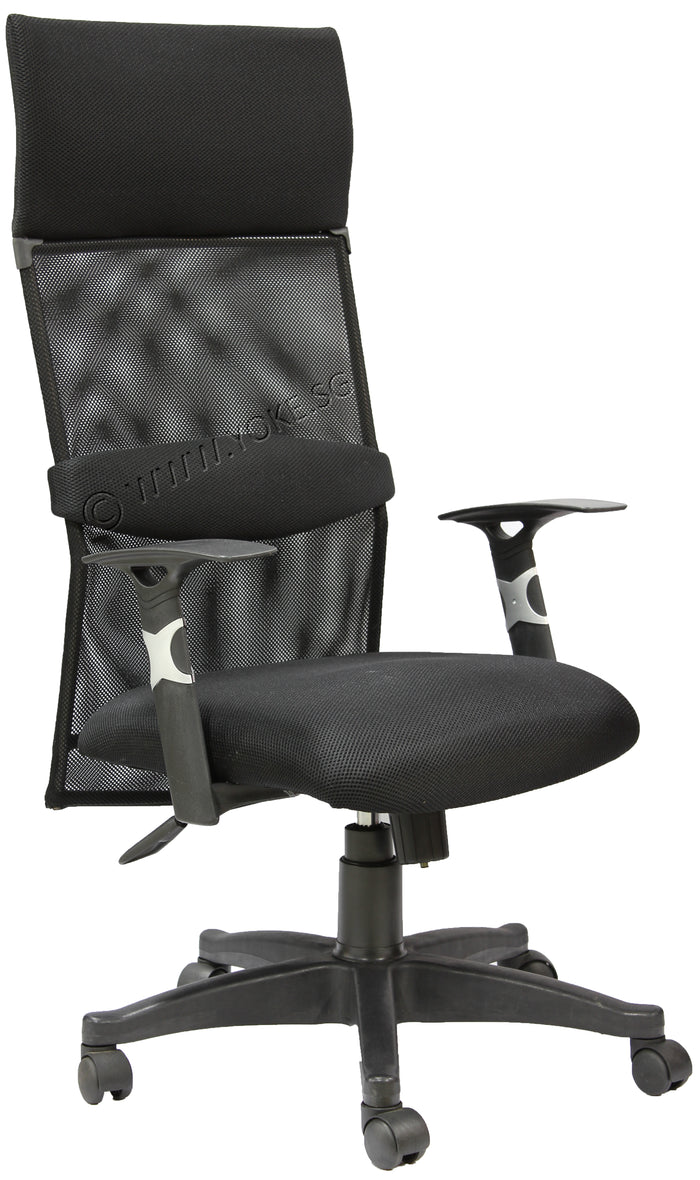 YOE 123 - High Back Mesh Chair With Headrest