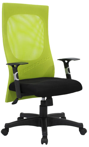 YOE 8 - High Back Mesh Chair with Armrest