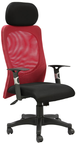 YOE 9 - High Back Mesh Chair with Headrest