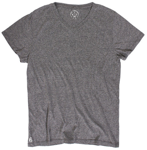 Men's Heather Grey V Neck