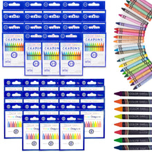Load image into Gallery viewer, Color Swell Bulk Crayon Packs - 18 Packs Large Neon Crayons and 18 Packs Classic Crayons