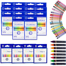 Load image into Gallery viewer, Color Swell Bulk Crayon Packs - 4 Packs Large Neon Crayons and 14 Packs Classic Crayons