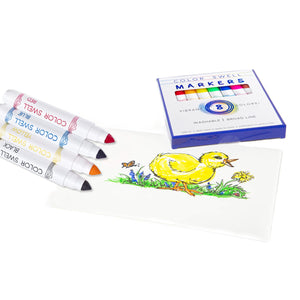 Color Swell Bulk Marker Pack (10 Packs, Broad-Line Markers)