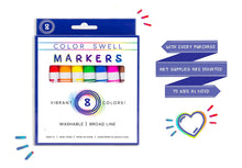 Load image into Gallery viewer, 4 Pack of Washable Markers (8 Markers per Pack) by Color Swell