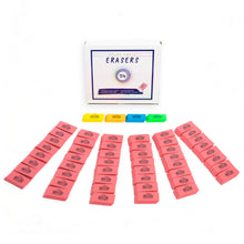 Load image into Gallery viewer, Color Swell 54 Pack Erasers Bulk Pink Pencil Erasers For Kids