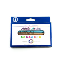 Load image into Gallery viewer, Color Swell Metallic Marker Bulk Pack (4 Packs, 8 Markers/Pack)