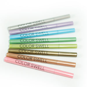 18 Packs of 8 Vibrant Metallic Colors by Color Swell