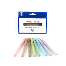 Load image into Gallery viewer, Color Swell Metallic Marker Bulk Packs (18 Packs, 8 Markers/Pack)