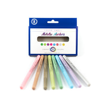 Load image into Gallery viewer, Color Swell Metallic Marker Bulk Pack (6 Packs, 8 Markers/Pack)