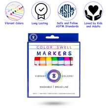 Load image into Gallery viewer, Color Swell Bulk Easel Pads (6 Pack) Plus Bonus Marker Pack