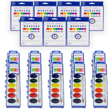 Load image into Gallery viewer, Art Mixed Bulk Pack (10 packs each of Markers and Watercolors)