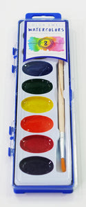 Color Swell Bulk Watercolor Paints (6 Packs, 8 Colors/Pack)
