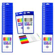 Load image into Gallery viewer, Color Swell Super Tip Washable Markers Bulk Pack 36 Boxes of 8 Vibrant Colors (288 Total)